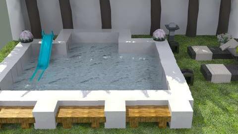 piscina - Glamour - Garden  - by ATELOIV87