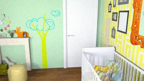 multi-gender nursery - Classic - Kids room  - by BethB