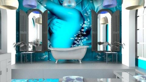 Bleu/bathroom - Modern - Bathroom  - by decorj