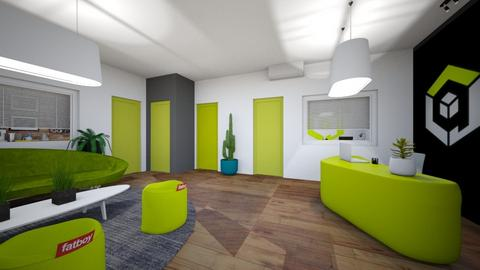 hall room x3 - Kitchen - by APEXDESIGN