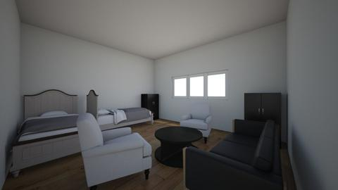 Redizajn sobe 3D pt 2 - Minimal - Bedroom  - by mbn