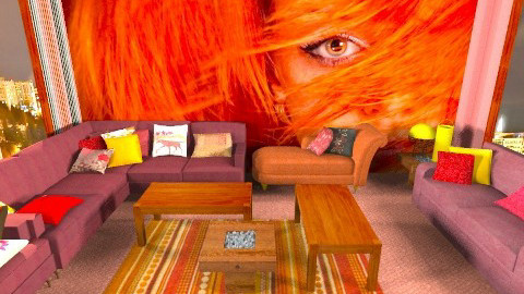 Rihanna room - Modern - Living room - by rokhi