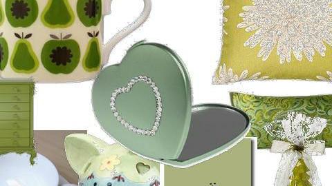 green things - by littlebean