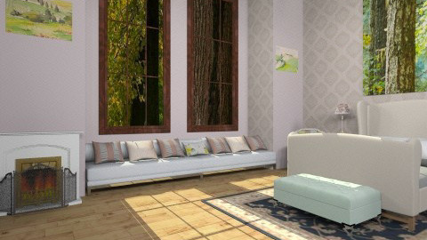 BR - Vintage - Bedroom  - by mire roig