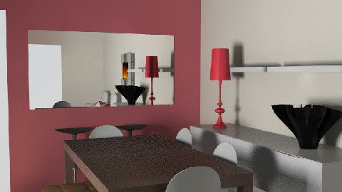 salle manger V5 - Dining Room  - by johanne