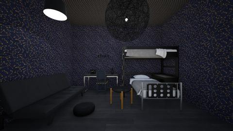 VERY gothic room - Bedroom  - by percy_jackson_geek