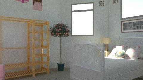 Girly Bedroom - Feminine - Bedroom - by iwoolnough