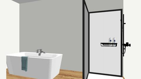 green master 1 - Modern - Bathroom  - by chaotic5