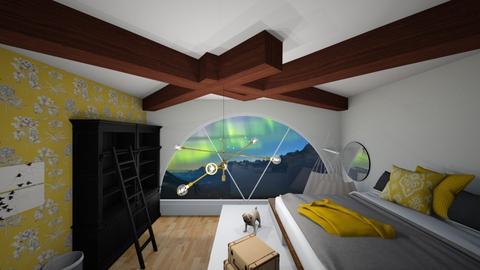 Spring attic  - Country - Bedroom - by nikitah23