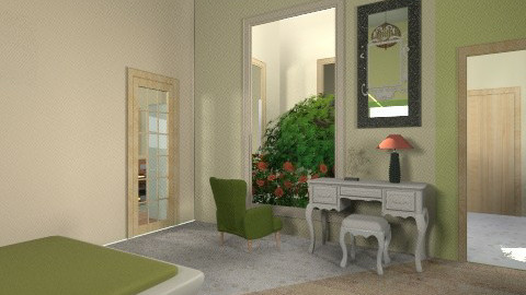 0212 - Country - Bedroom - by zeland