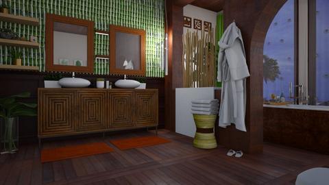 islands bath - Global - Bathroom  - by donella