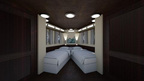 Yacht Cabin 2 - Bedroom  - by SammyJPili