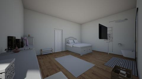 danielles dream bedroom - Modern - Bedroom - by galaxygirl101