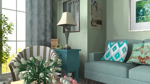 Azure - Classic - Living room  - by milyca8