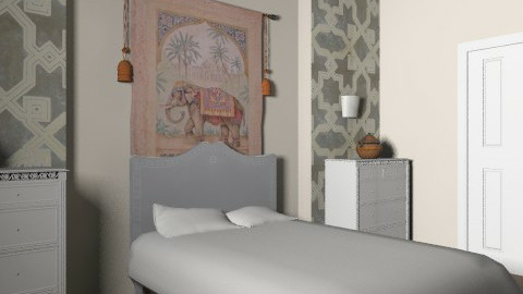 Indian Inspiration. - Rustic - Bedroom  - by jadebeal