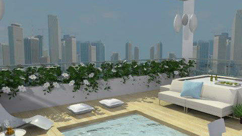 Roof top Seclusion - Modern - Garden  - by channing4