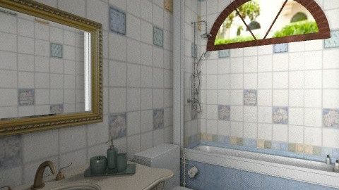 bathroom farm Eleonora  - Country - Bathroom - by Maria_Julia