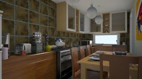 MF Kitchen - Kitchen - by InkyThoughts