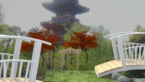 japanese garden - Country - Garden  - by leendave