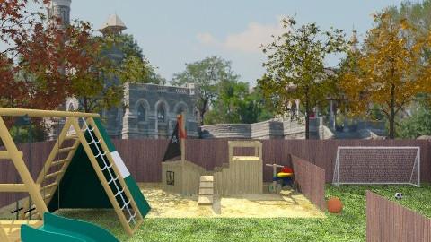 Autumn Playground - Classic - Garden  - by Abracadabra