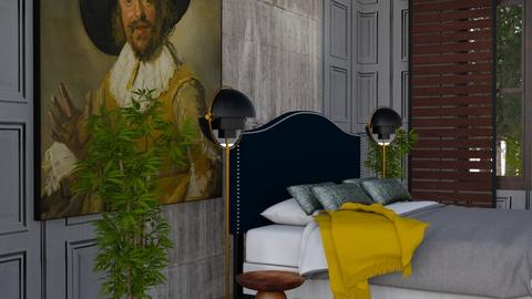 bedroom10 - Vintage - Bedroom - by marmart8