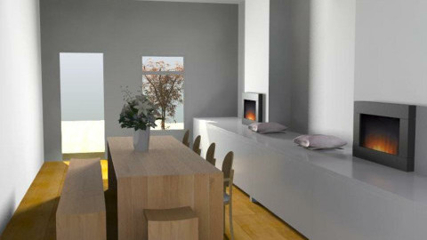 Chic&Sleek - Minimal - Dining room  - by camilla_saurus