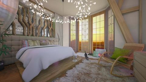blurry bed - Global - Bedroom  - by donella