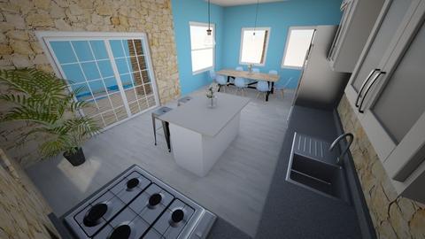 Coastal Kitchen - Kitchen  - by EZdonuts