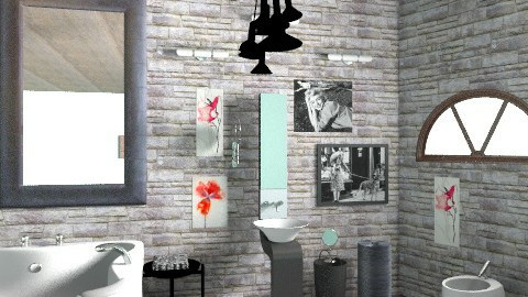 hhhggf - Eclectic - Bathroom  - by annabeth