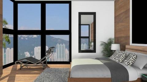 Bedroom005 - Modern - Bedroom  - by Ivana J