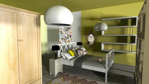 Indie Retro Bedroom - Retro - Bedroom  - by tillsa98