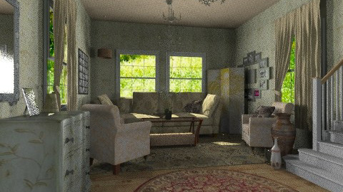 mothers den - Classic - Living room  - by natural11