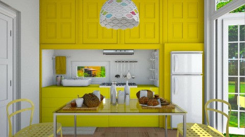 yEllOw - Kitchen - by Ni NI