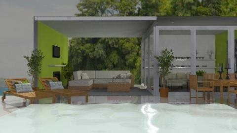 The Poolhouse - Modern - Garden  - by Carliam
