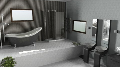 house 12 - Minimal - Bathroom  - by filiopap