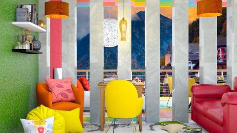 Color Study Room - Modern - Kids room  - by MB2006