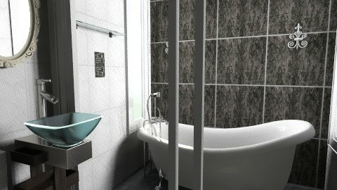 2nd floor Baths - Vintage - Bathroom  - by Jek Pulido