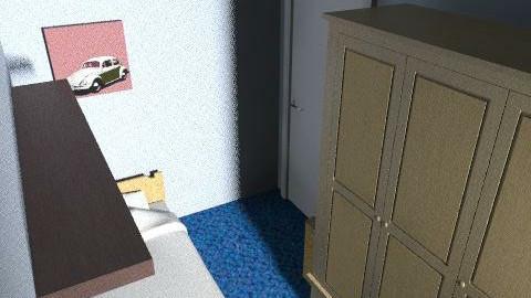 Dave_97 - Minimal - Bedroom  - by muki_kutya