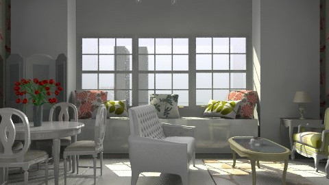 french sunroom - Classic - Bedroom - by designerv