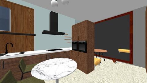 keuken _ nieuw_5_eettuin - Kitchen  - by iene