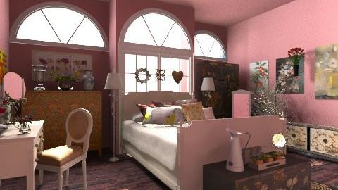 Pink bedroom - Eclectic - by hetregent