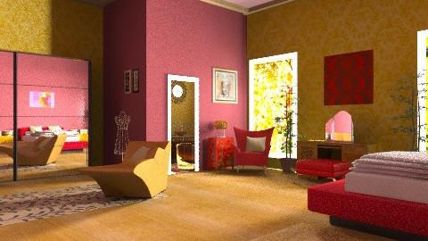 ..with en suite - Glamour - Bedroom  - by mrschicken