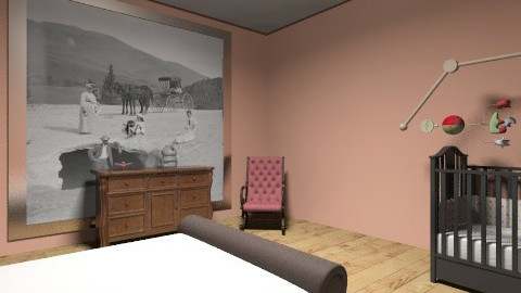 nursery guest room - Glamour - Kids room  - by mrszaynmalik