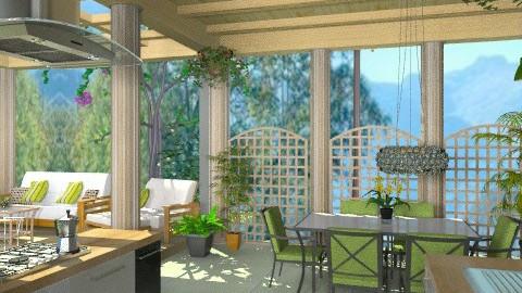 Patio - Classic - Garden  - by Bibiche
