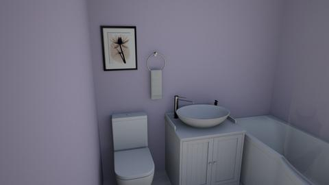 Lavender Bathroom - Bathroom  - by EZdonuts