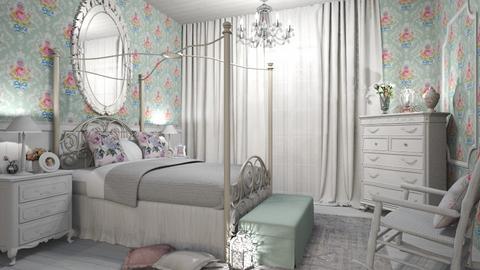 shabby Chic bedroom - by Senia N