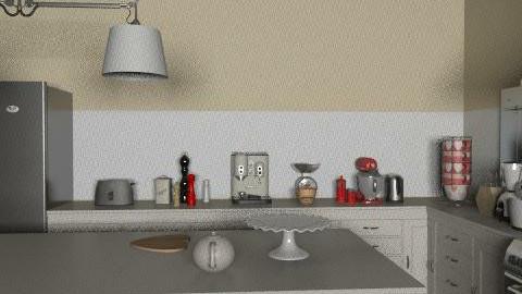 Otel Mutfak - Country - Kitchen  - by pelin516