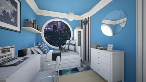 micro bedroom - Minimal - Bedroom  - by Randy Hamlin Jule