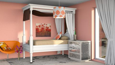 Poppy Bedroom - Bedroom  - by Cacti Queen