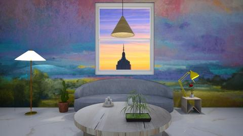 PasteL - Living room  - by elxfll